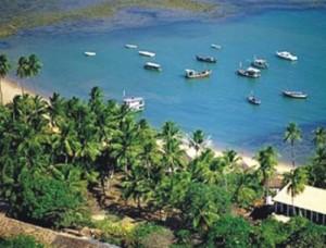 A beleza da Praia do Forte