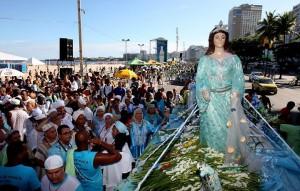 festa de Iemanjá em Salvador