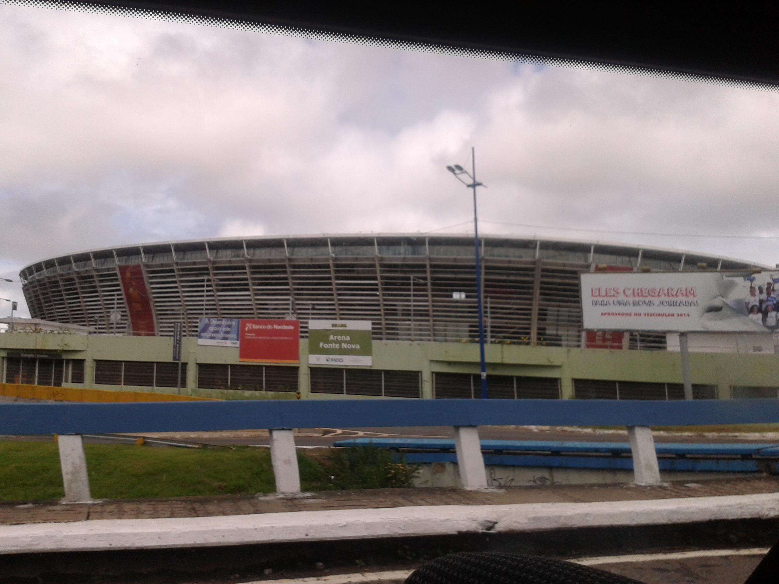 Arena Fonte Nova irá receber estações de bicicletas em seu entorno